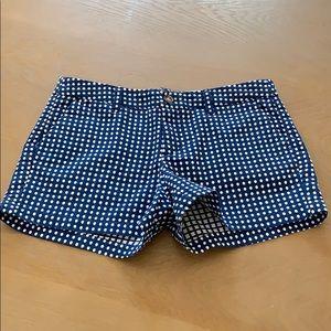 Merona blue polka dot shorts